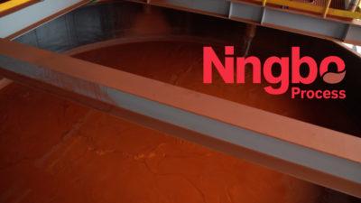 Eisenoxid Rotpigmente Ningbo-Prozess