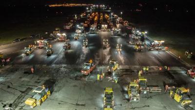 Flughafen Köln/Bonn – Sanierung der Start- und Landebahn